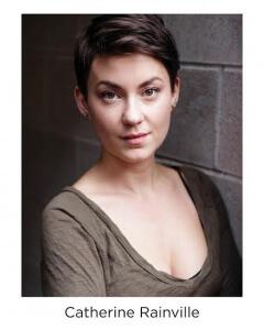 Catherine Rainville plays Viola in Twelfth Night July 2-August 18, 2018